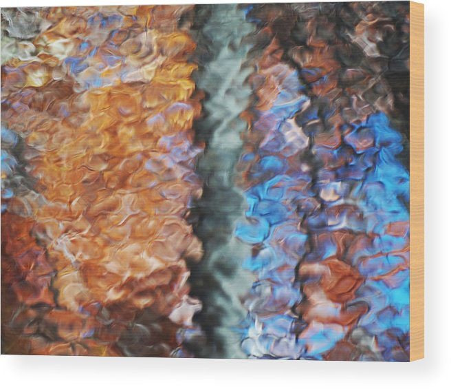Colors Wood Print featuring the photograph Fall3 by Wim Haverkamp
