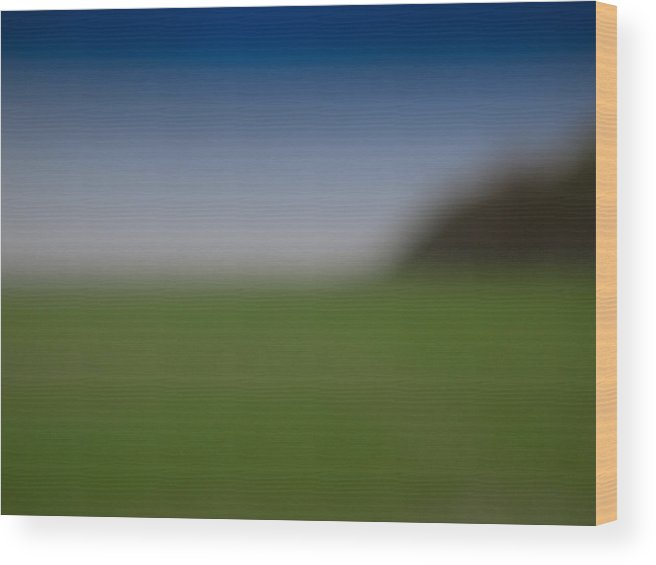 Abstract Wood Print featuring the photograph Field Of Dreams by Paul Roach