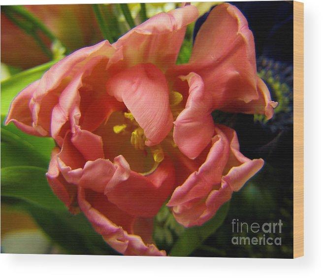 Nature Wood Print featuring the photograph Floweron by Yury Bashkin