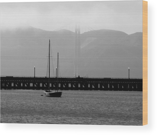 Bay Wood Print featuring the photograph In The Shadows by Jean Macaluso
