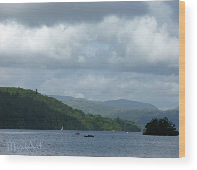 Lake Wood Print featuring the photograph Lake Windemere Summer 2012 by Miriam Shaw