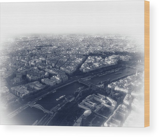 France Wood Print featuring the photograph Paris Pic.13 by Oleg Volkov