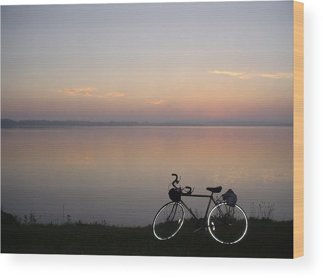Sunrise Wood Print featuring the photograph Sunrise Tour by Dennis Leatherman