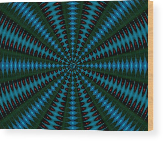 Abstract Photography Wood Print featuring the photograph Taranis by Danny Lally