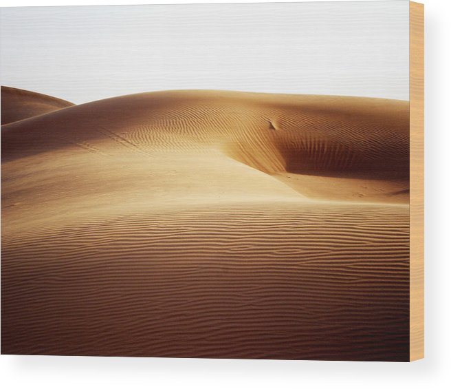 Sand Wood Print featuring the photograph 08021 by Jeffrey Freund
