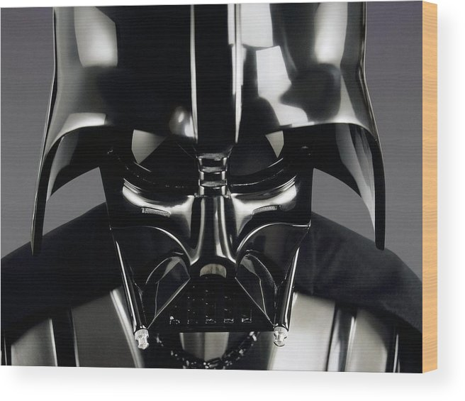 Star Wars Wood Print featuring the digital art Star Wars by Mery Moon