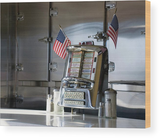 Diner Wood Print featuring the photograph Americana by Randy Ford