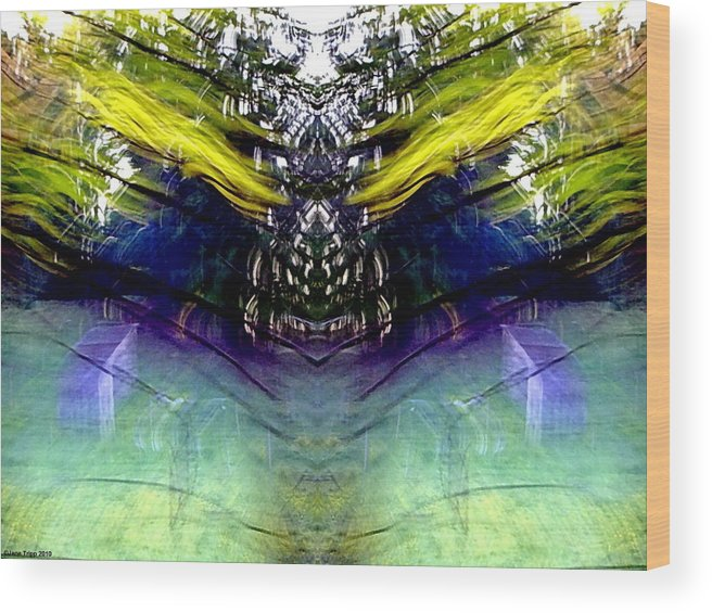 Photograph Wood Print featuring the photograph Astral Altar by Jane Tripp