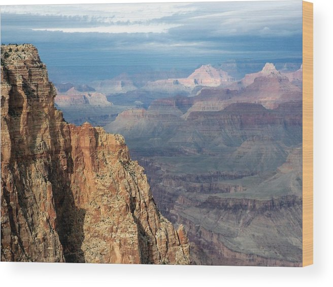 Grand Canyon National Park Wood Print featuring the photograph Beautiful Pastel by Carrie Putz
