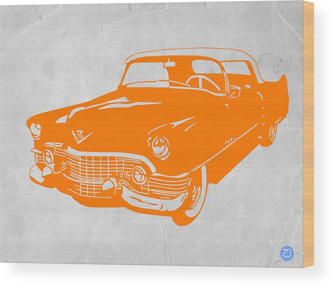 Chevy Wood Print featuring the digital art Classic Chevy by Naxart Studio