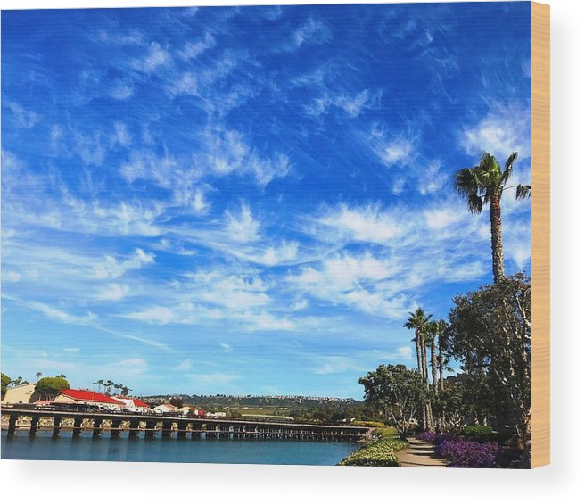 Wood Print featuring the photograph Clouds That Whisper2 by Marissa Rubio