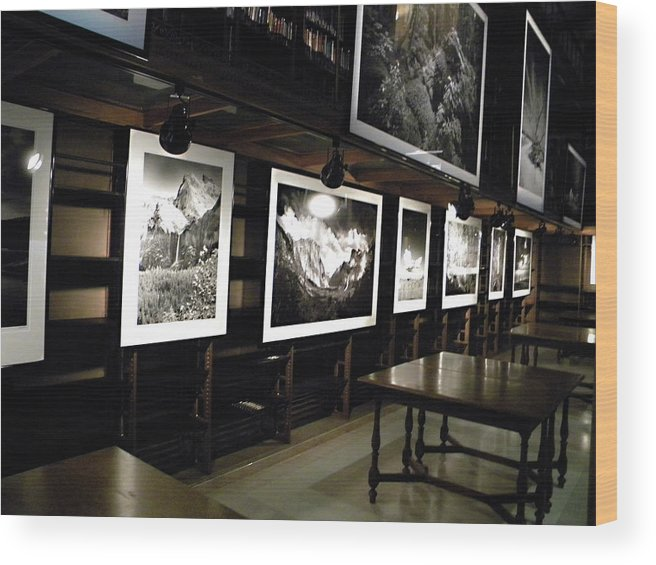 Wood Print featuring the photograph Clyde Butcher's Photographs by Laurie Prentice