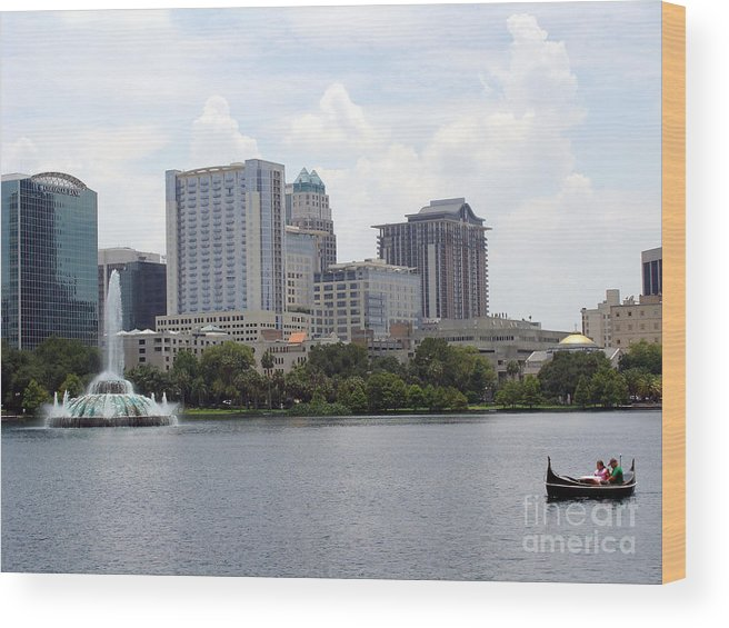 Building Wood Print featuring the photograph Dau On The Water by Jack Norton
