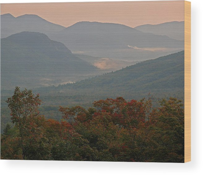 White Mountains Wood Print featuring the photograph Dawn In The White Mountains by Juergen Roth
