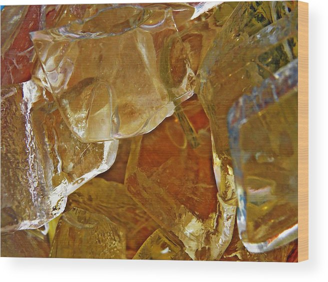 Dunkin Ice Coffee 7 Wood Print featuring the photograph Dunkin Ice Coffee 7 by Sarah Loft