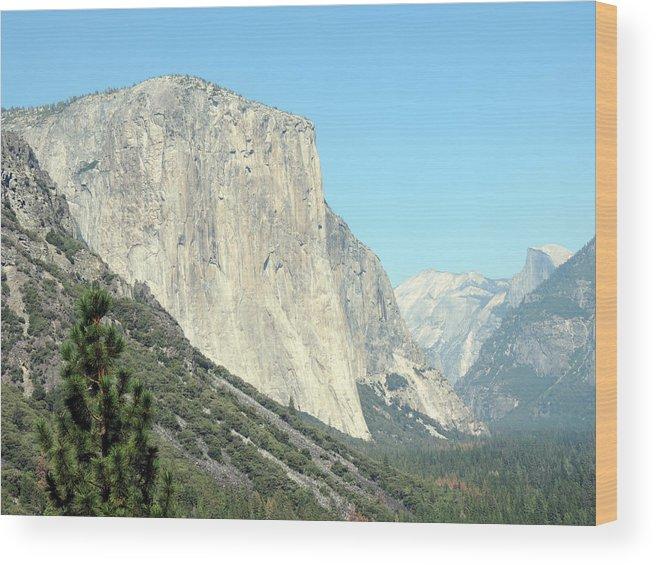 El Capitan Wood Print featuring the photograph El Capitan 3 by Eric Forster