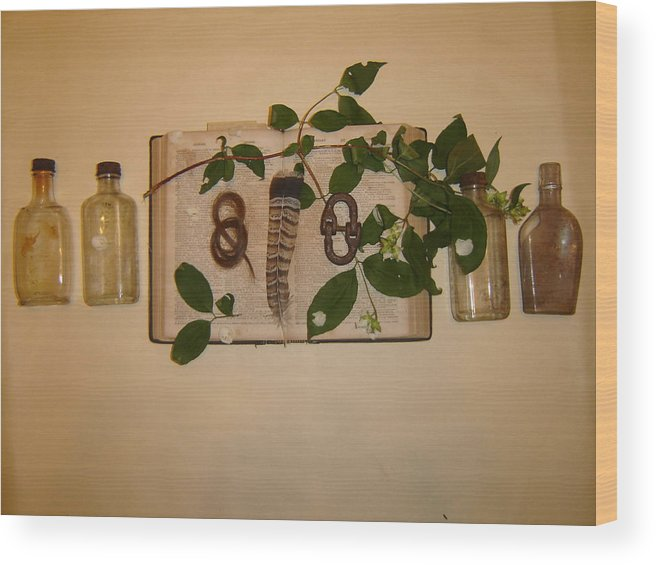 Still Life Wood Print featuring the photograph From '26 by Dean Corbin