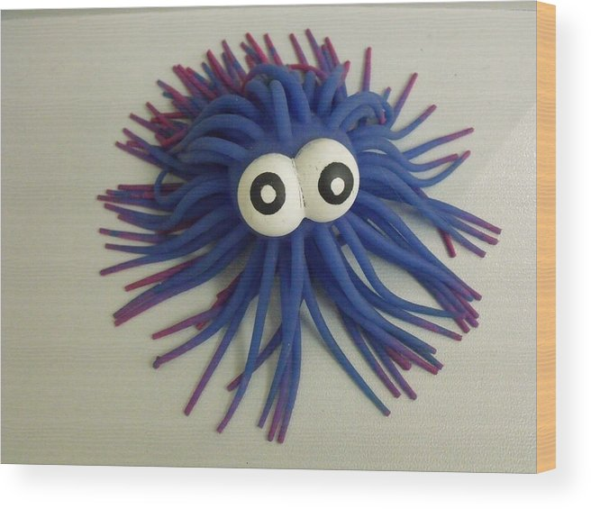 Toys Wood Print featuring the photograph Koosh by Anna Villarreal Garbis