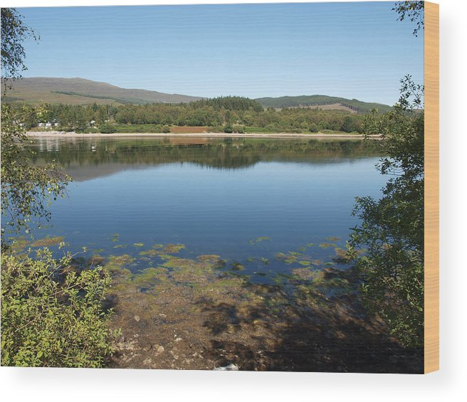 Loch Wood Print featuring the photograph Loch Eil View by Michaela Perryman