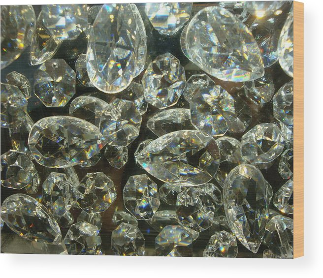 Crystal Wood Print featuring the photograph Mystery Crystal by Allen Meyer