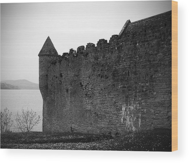 Ireland Wood Print featuring the photograph Parkes Castle County Leitrim Ireland by Teresa Mucha