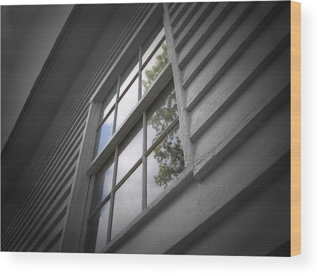 Church Wood Print featuring the photograph Reflective Truths by Jessica Burgett