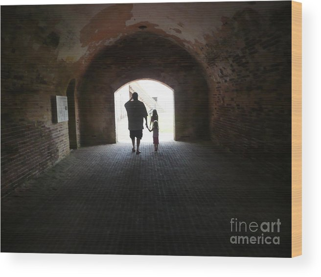 Wood Print featuring the photograph Silhouettes by Barb Montanye Meseroll