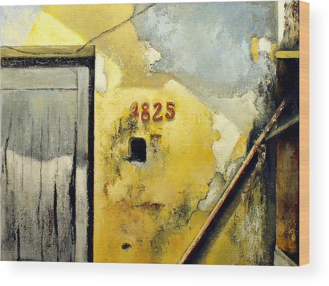 Havana Wood Print featuring the painting Solana by Tomas Castano