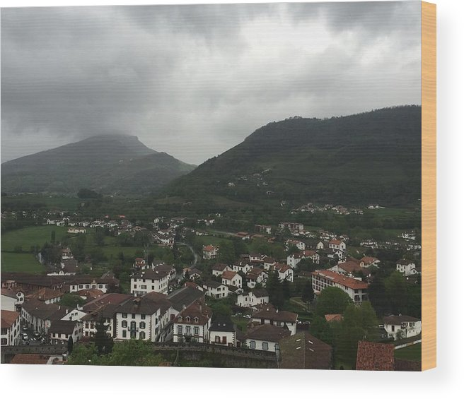 France Wood Print featuring the photograph St. Jean Pied De Port by Dani Keating