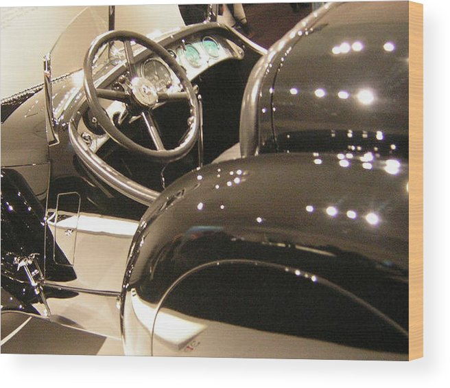 Cars Wood Print featuring the photograph Steering by Heather Weikel