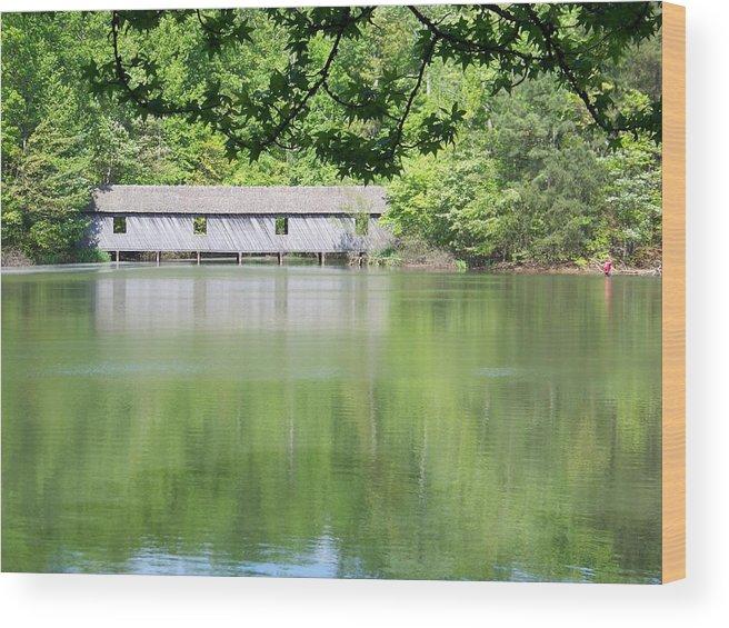 Bridge Wood Print featuring the photograph Strength by Jessica Burgett