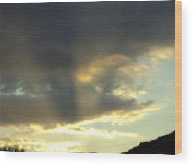Landscape Wood Print featuring the photograph Sunrise by David Du Hempsey