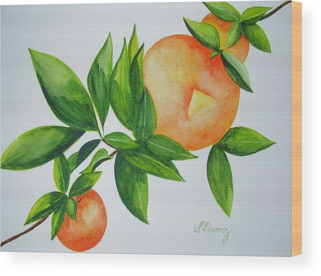 Fruits Wood Print featuring the painting Sweet by Murielle Hebert