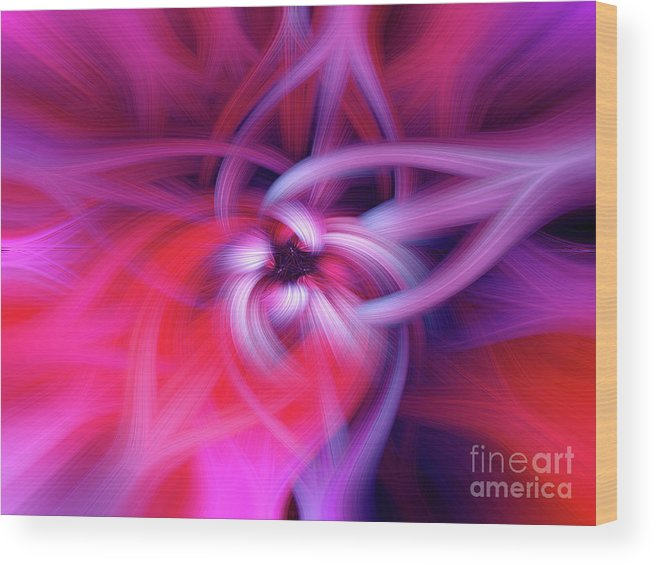 .design Wood Print featuring the photograph The Knot Fiber 0610 by Howard Roberts