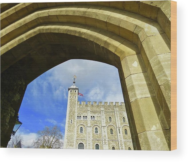 London Wood Print featuring the photograph Tower Of London by Mr Bell Travels