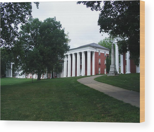 Generals Wood Print featuring the photograph Washington And Lee University by Eddie Armstrong