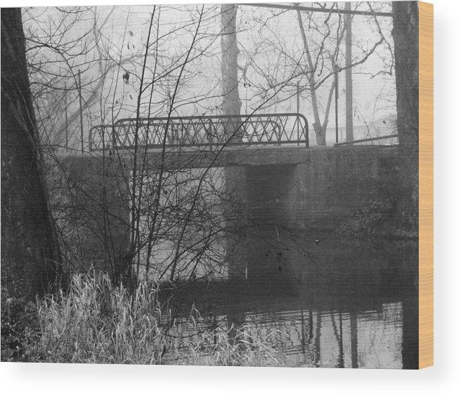 Bridge Wood Print featuring the photograph Webster Bridge by Michael L Kimble