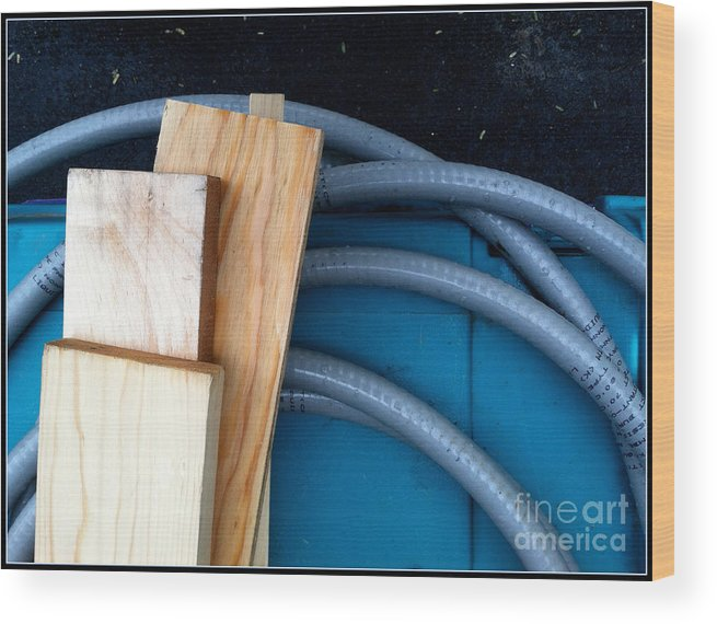 Diptych Wood Print featuring the photograph Pc 68 by Marlene Burns