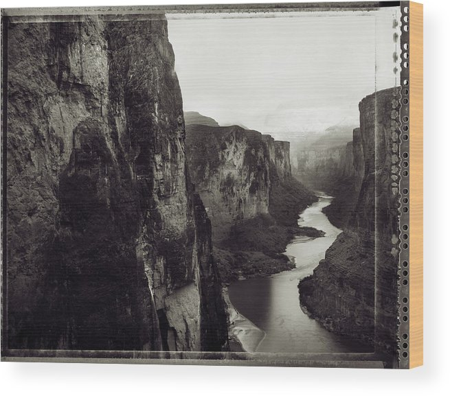 Arizona Wood Print featuring the photograph The View Downstream From The Eminence by Kyle George