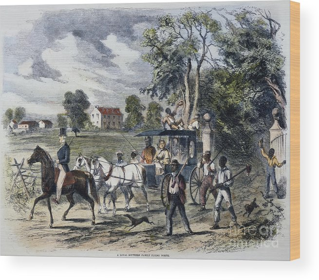 1872 Wood Print featuring the photograph Pro-union South, 1862 by Granger
