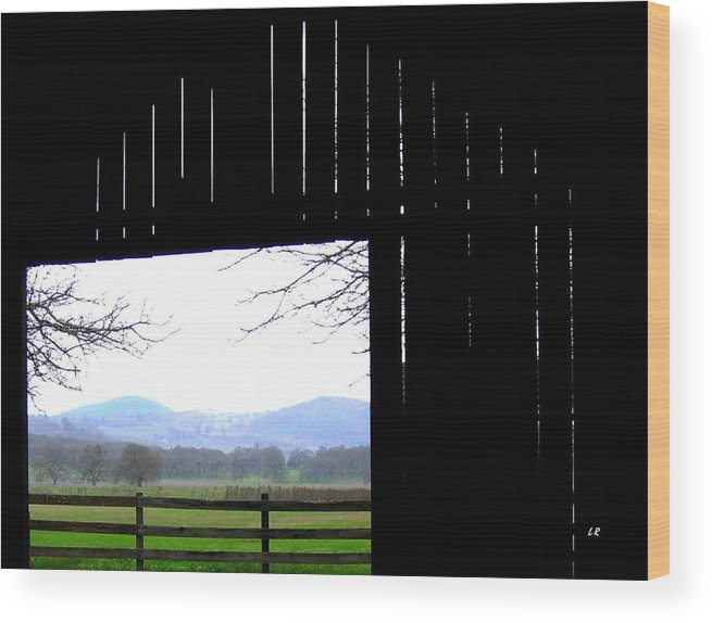 Barn Wood Print featuring the photograph Inside Out by Will Borden