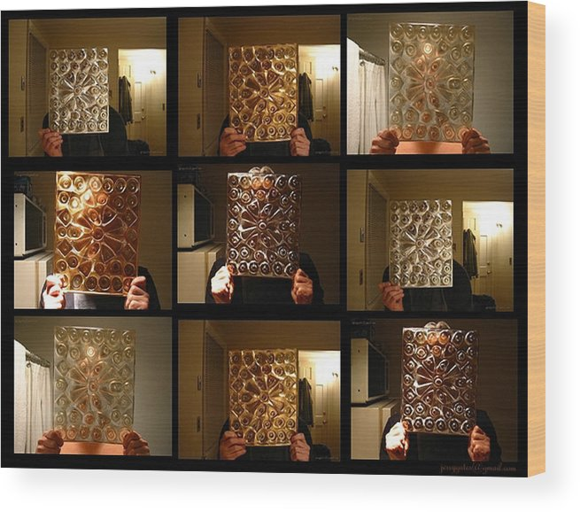 Personality Wood Print featuring the photograph Multiple Personality by Gerard Yates