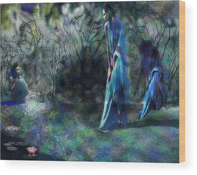 Sisters Of Fate Wood Print featuring the photograph Sisters Of Fate by Seth Weaver