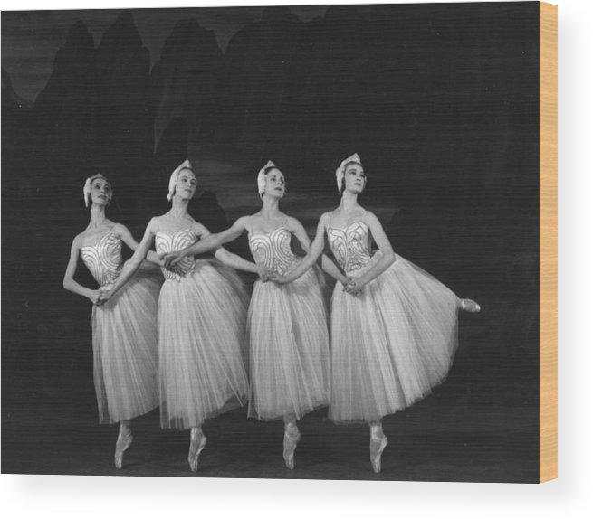 Ballet Dancer Wood Print featuring the photograph Swan Lake by Baron
