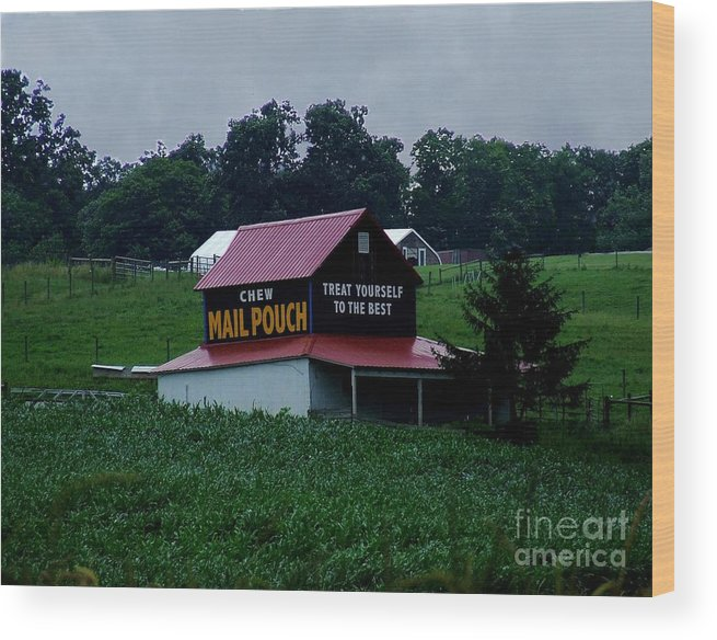 Past Wood Print featuring the photograph Country Side Pride by Scott B Bennett