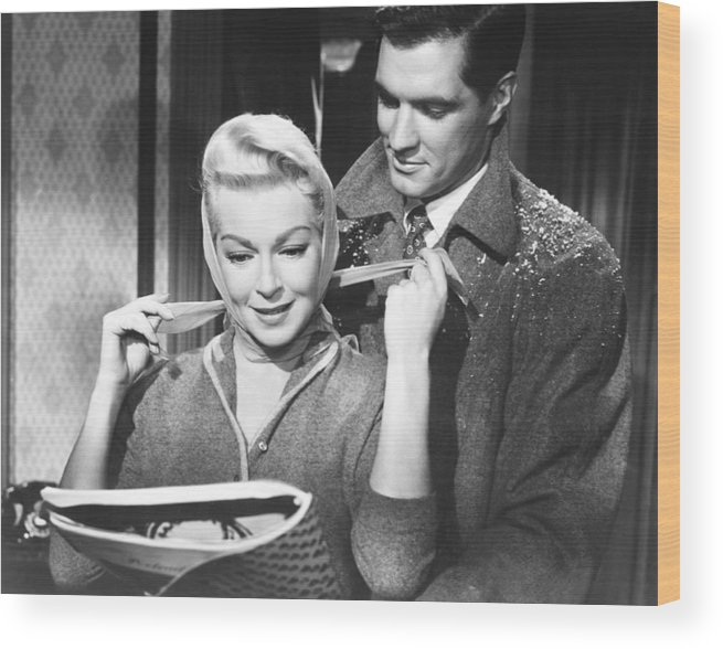 1950s Movies Wood Print featuring the photograph Imitation Of Life, From Left Lana by Everett