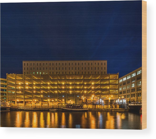 2014 Wood Print featuring the photograph Little Red Tug Boat by Randy Scherkenbach
