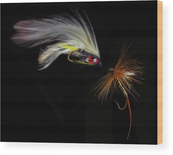 Fishing Wood Print featuring the photograph Fly Fishing In Southern Ontario by J McGill