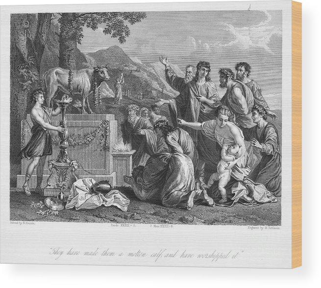 Art Wood Print featuring the photograph Golden Calf by Granger