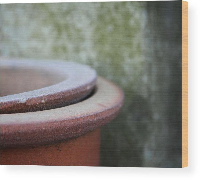 Rings Wood Print featuring the photograph Rings by Odd Jeppesen